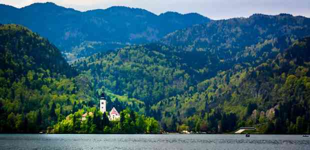 A humble visit to the Lake Bled