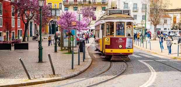 A photo of the Tram from Portugal
